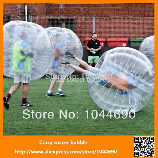 New, Amazing good quality 0.8mm PVC inflatable zorb bum